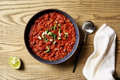 Bean and Barley Chili