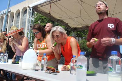 jalapeno eating contest
