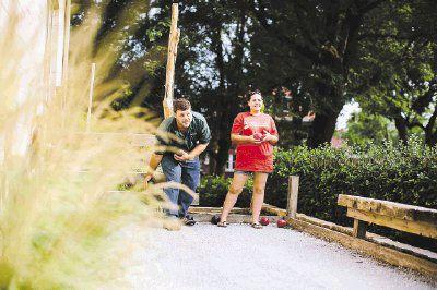 Building Your Own Bocce Ball Court