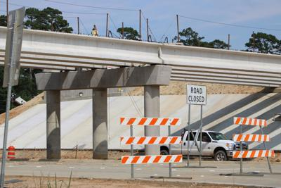 TxDOT: Carthage overpass project 60 percent complete