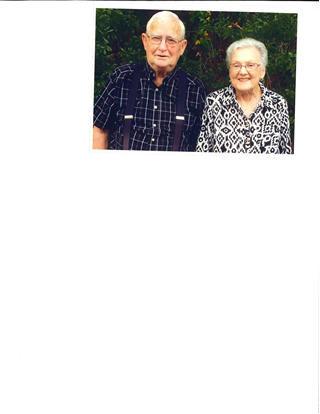 Pete Case and Wanda Burrow