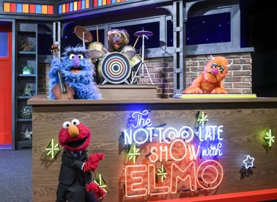 TV-Elmo Talk Show