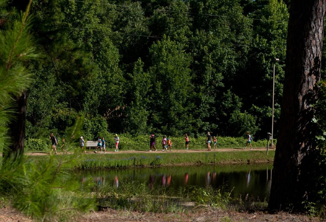 Spiritual-based summer camp feeds children's relationship with nature, God