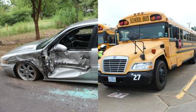 Police: Marshall ISD bus driver arrested after hit-and-run with parked car