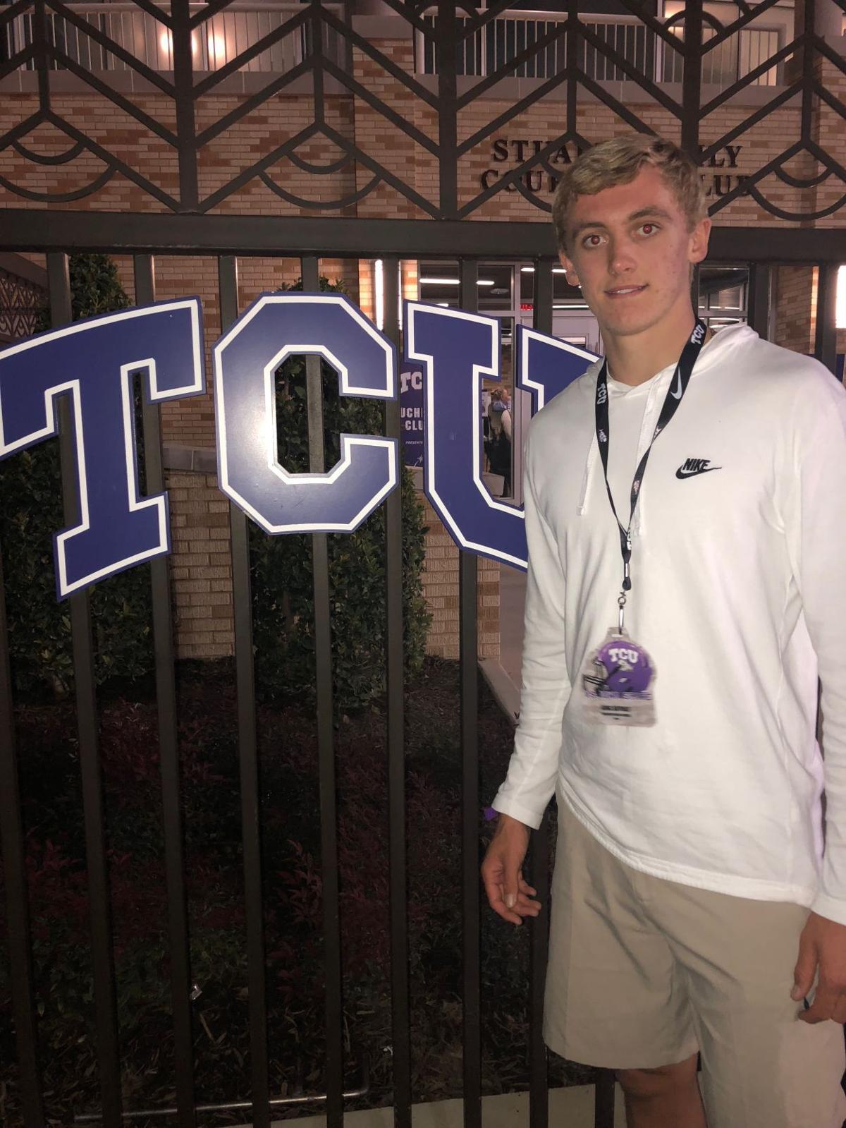 Haynes King - TCU visit