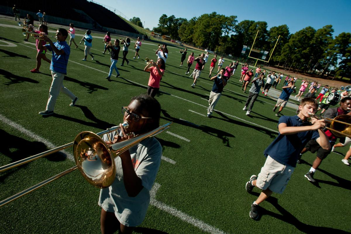 LHS Band Practice
