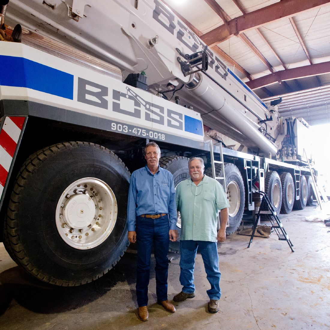 BOSS Crane outgrows 2-year-old headquarters, sets sights on expansion