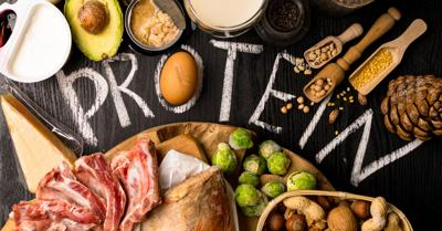 Adequate protein an important part of a health diet