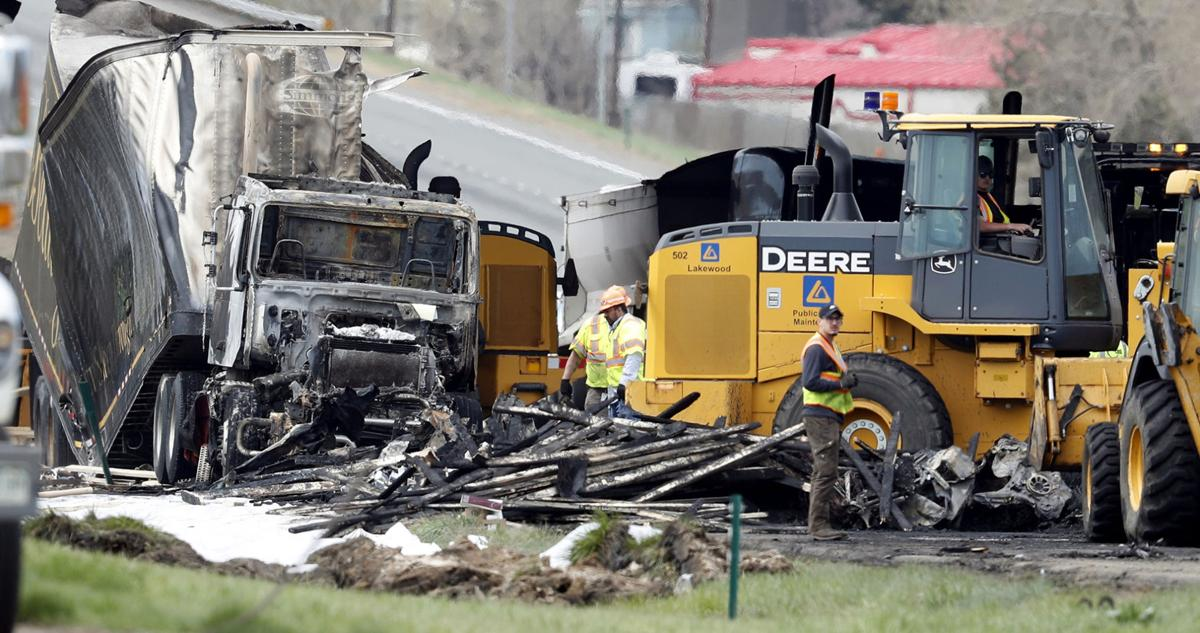 Houston trucker arrested in pileup that killed 4 near Denver