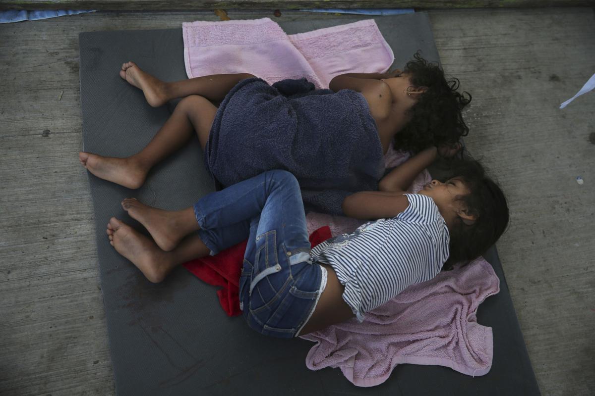 APTOPIX Mexico Immigration