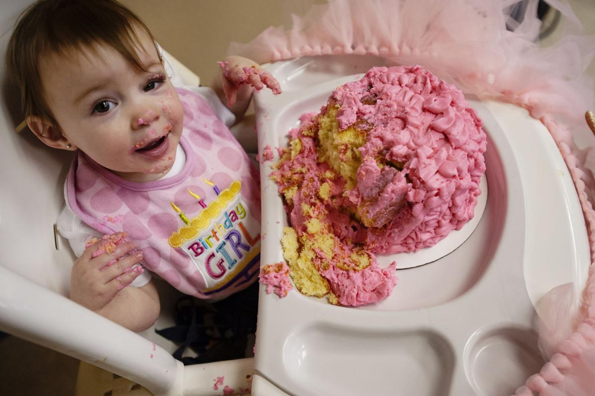 East Texas parents celebrate daughter's first birthday after
