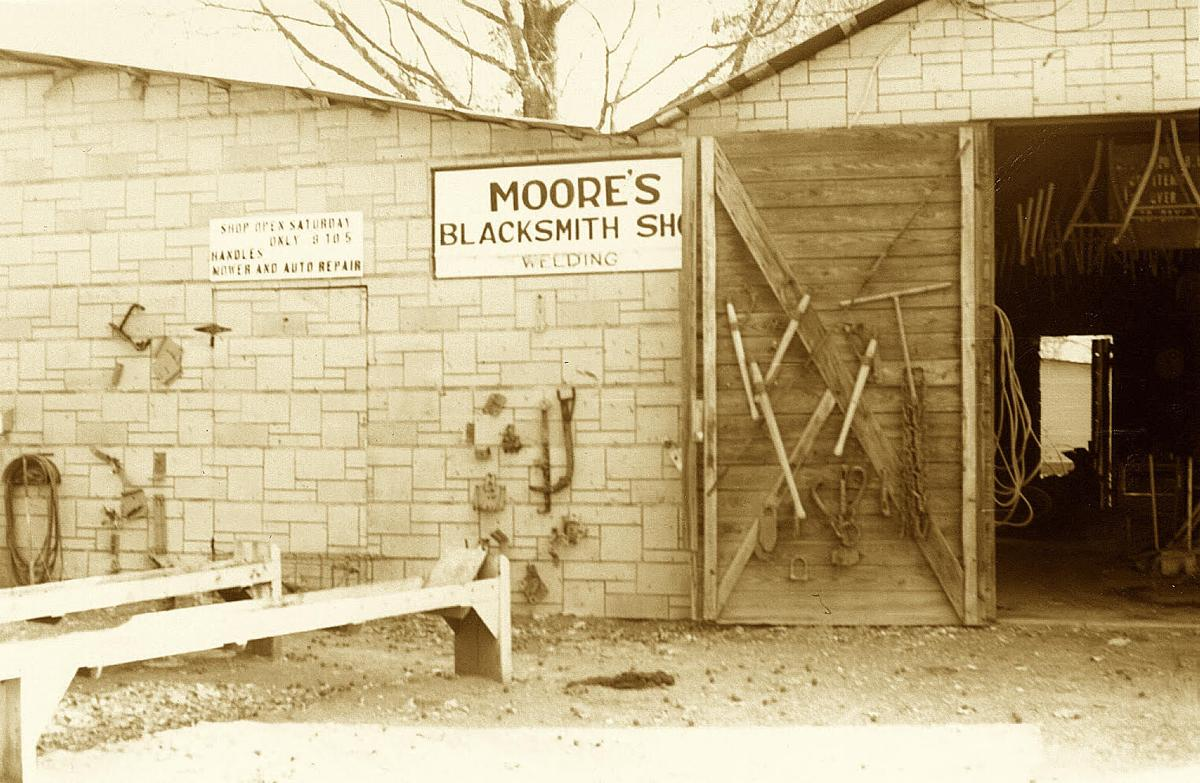 Moore's blacksmith shop
