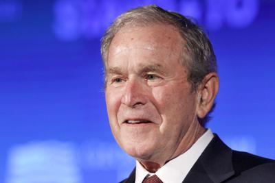 Bush Election Campaigning