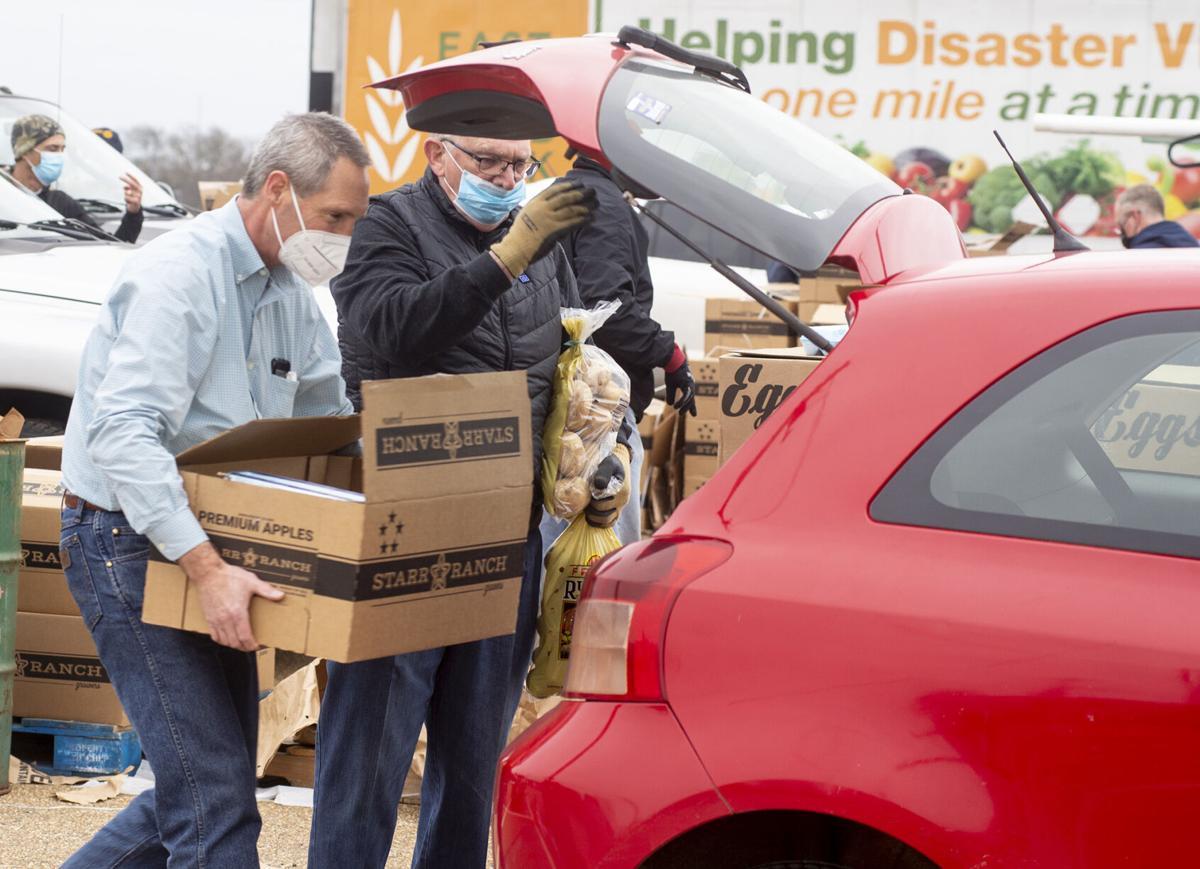 East Texas Food Bank Distribution