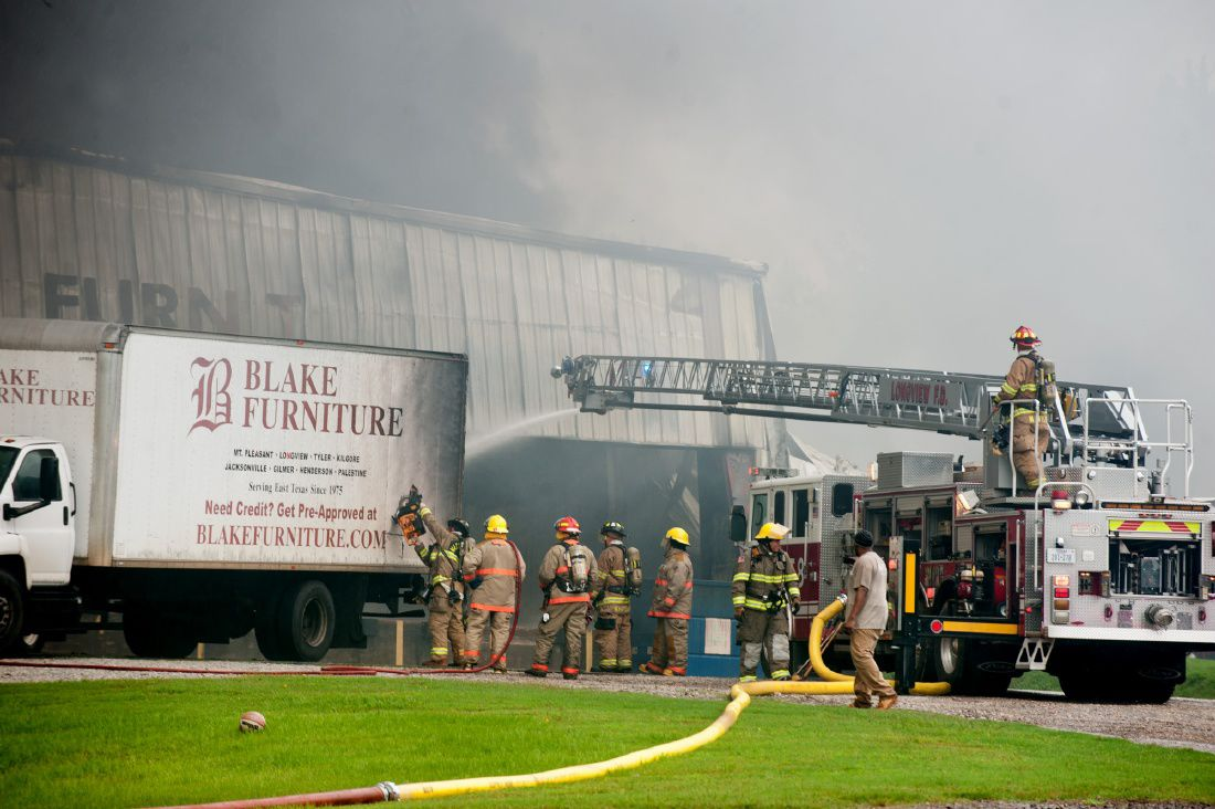 Massive Blaze Engulfs Blake Furniture Warehouse Police News