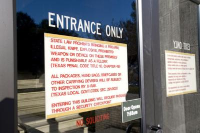 Guns still not allowed in Gregg County courthouse | Local