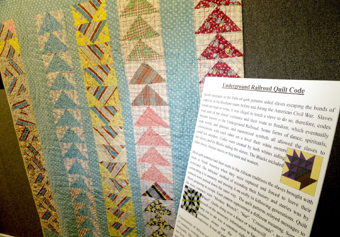 Quilts Once Used As Guides For Slaves On Display In Gregg County