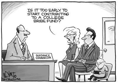 College (bribe) fund
