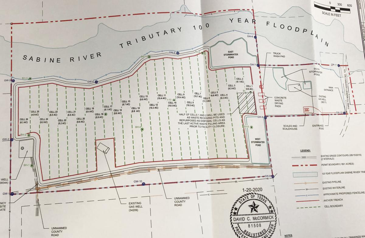 Commercial oil, gas waste disposal site proposed in Panola County
