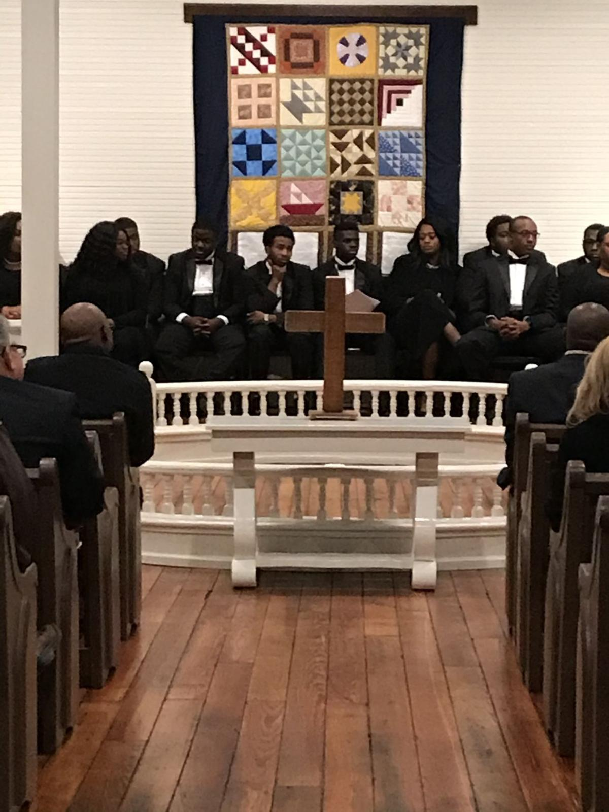 Collins Academy hosts grand opening for restored, historic Union Missionary Baptist Church