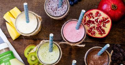 Add smoothies to your healthy snack alternatives