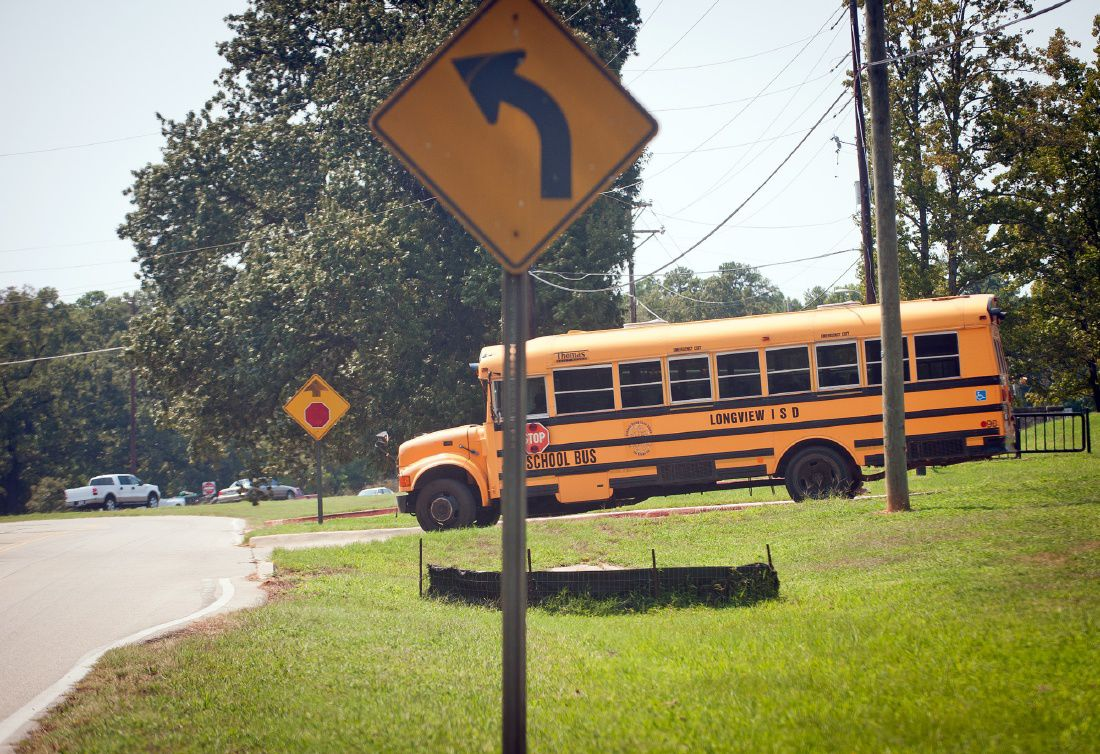 few big school bus missteps 1st week at longview area