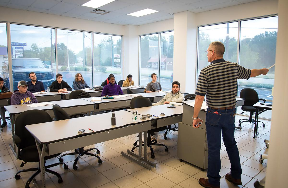East Texas Advanced Manufacturing Academy