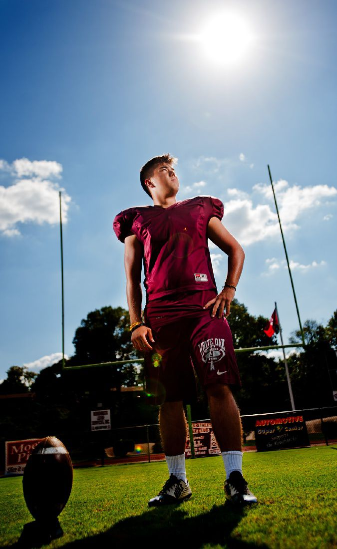 Foreign-exchange student excels as White Oak kicker ...