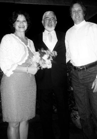 Adela Chandarlis and Ted Caldwell