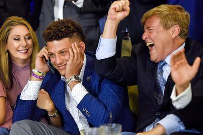 NFL Draft Watch Party Patrick Mahomes II