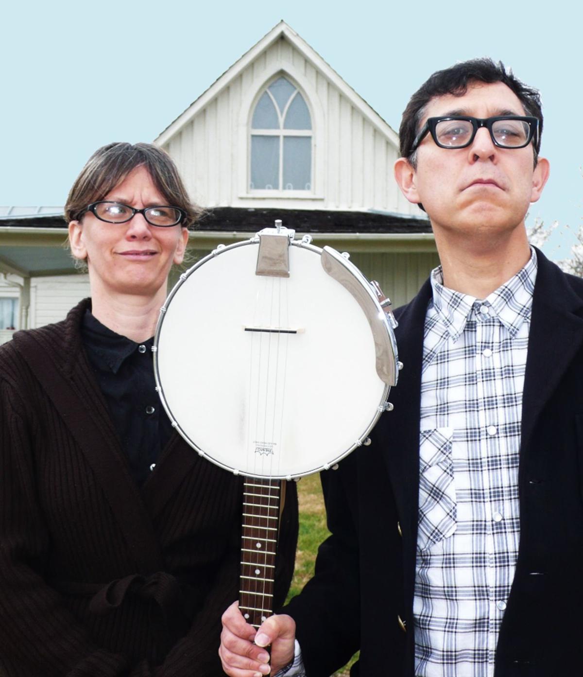Folk music duo