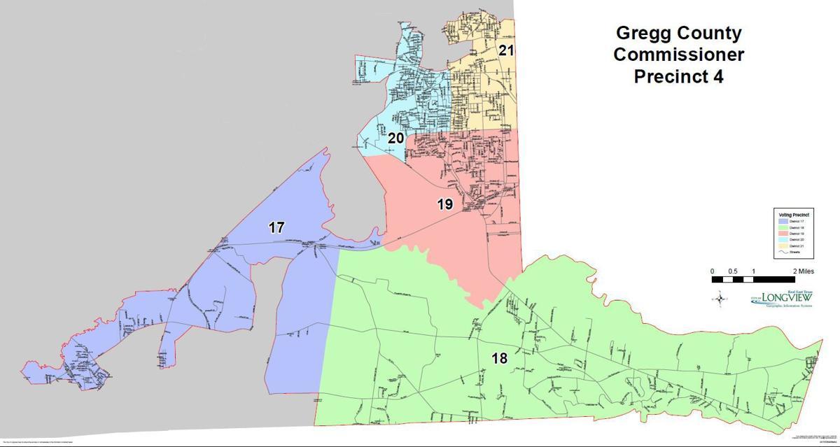 Gregg County Precinct 4 Map