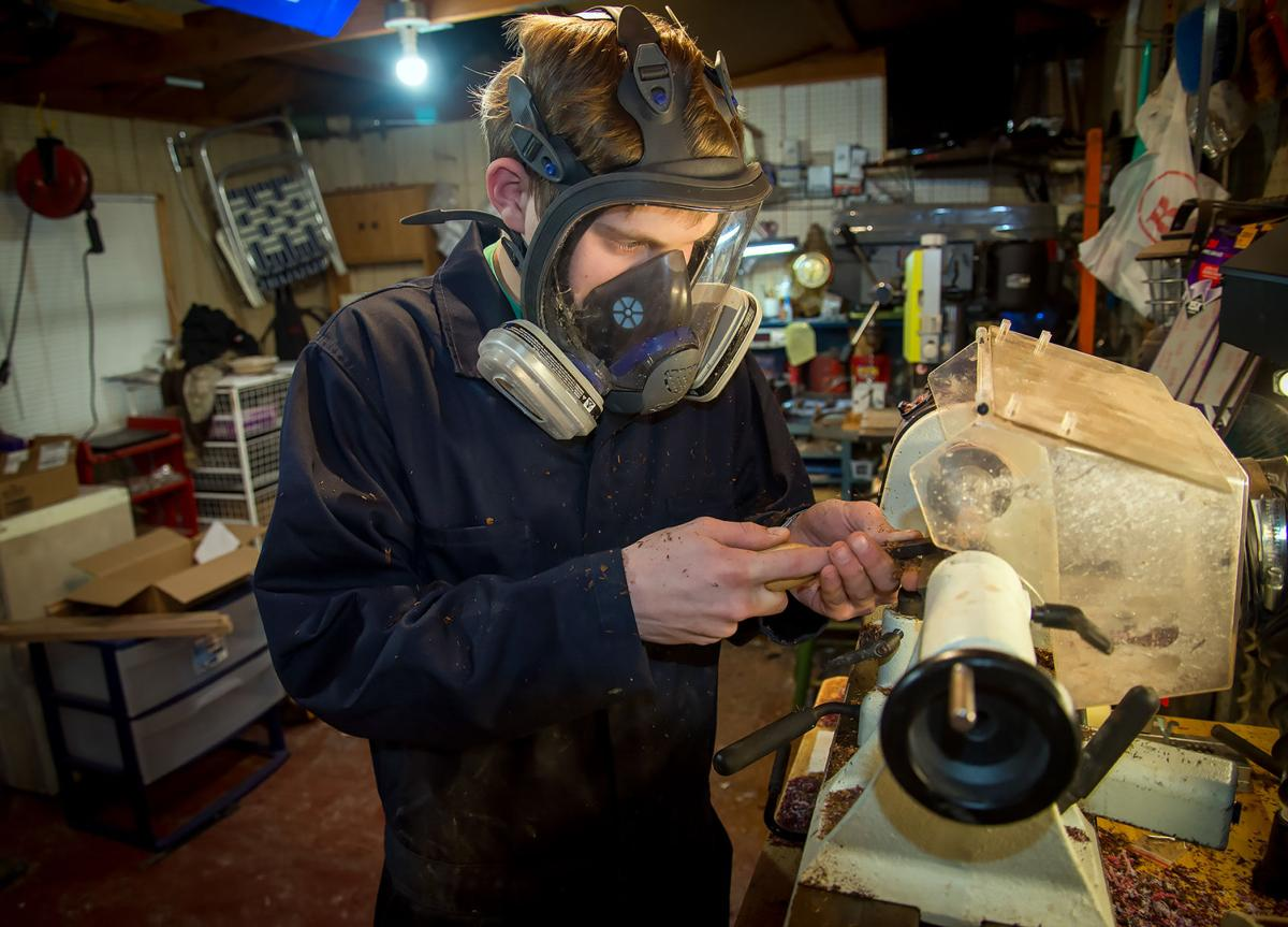 Teen Turns Passion For Woodworking Into Thriving Business Local News Journal Com