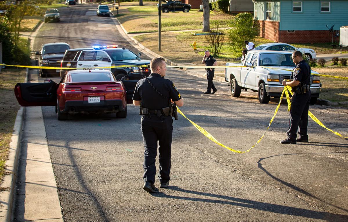 Hailey crime scene