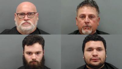 Online solicitation sting arrests