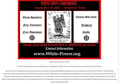 White unity rally