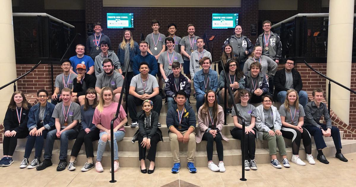 Hallsville High School Region UIL team