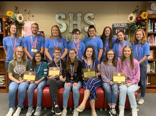 Sabine High School State UIL team 2019