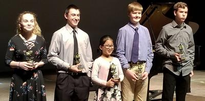 Baroque and Classical Piano finalists