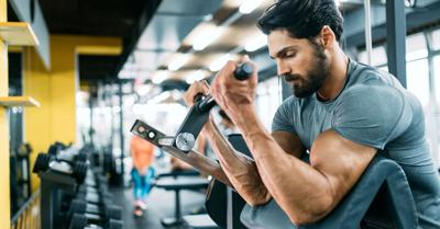 Hit muscle groups more frequently.