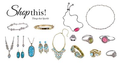 ShopThis! March/April 2018: Things that sparkle