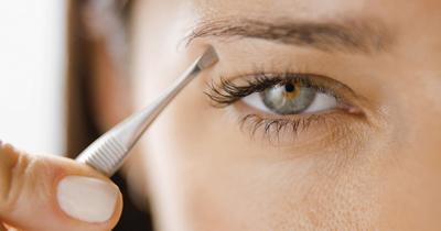 Eyebrows ad indicator of health