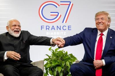 APTOPIX France G7 Summit Trump