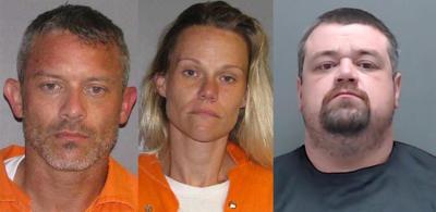 Harrison sheriff names 3 in burglary