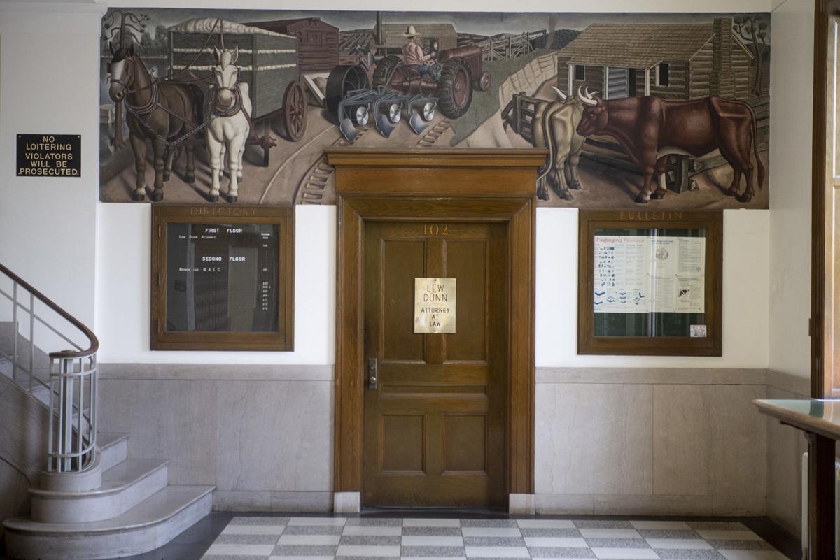 Post Office Mural
