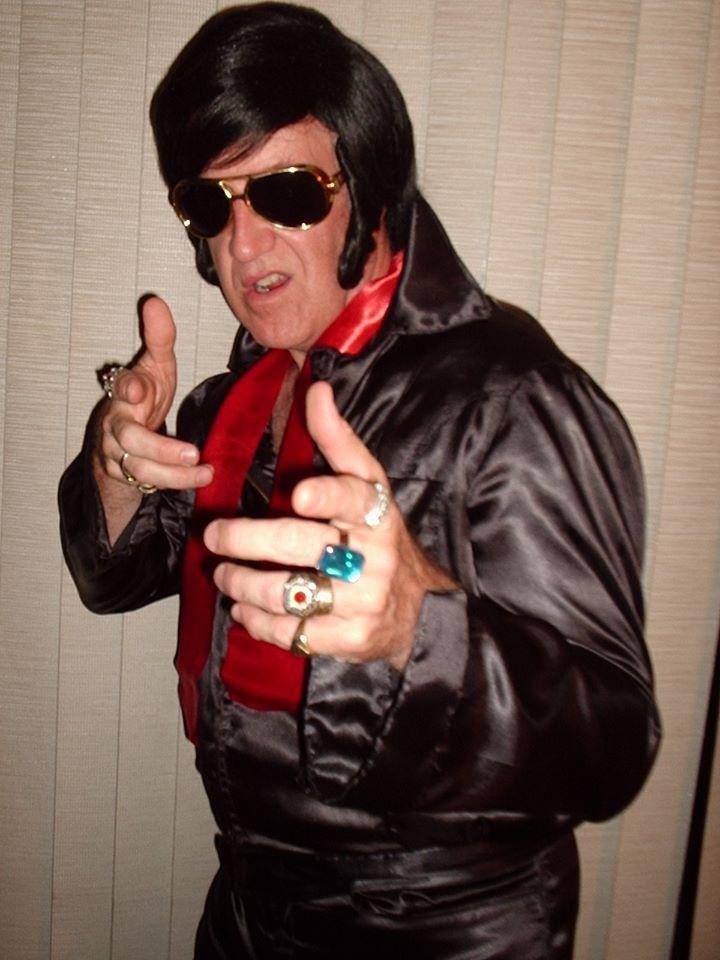 Byron as Elvis