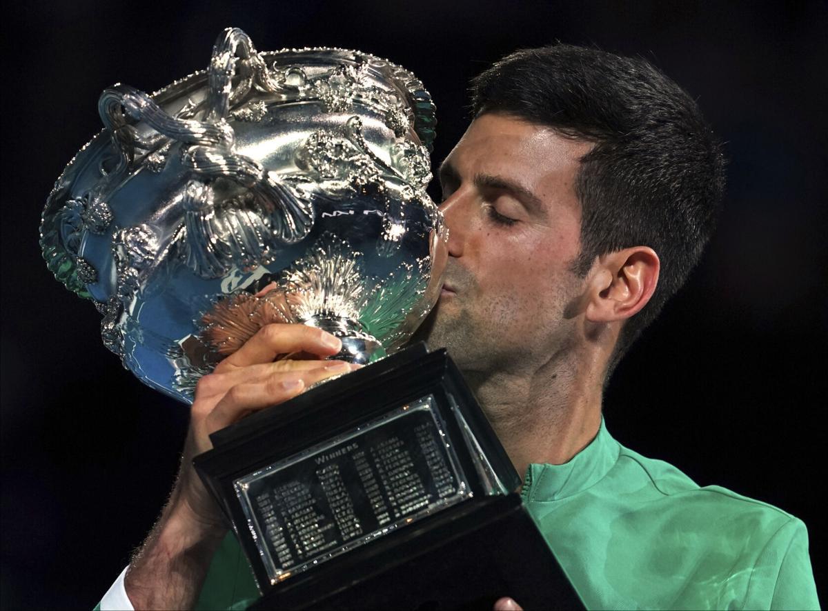 APTOPIX Australian Open Tennis