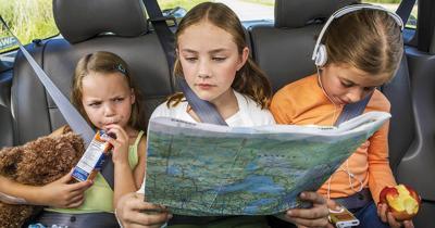 Rear middle seat safest for kids