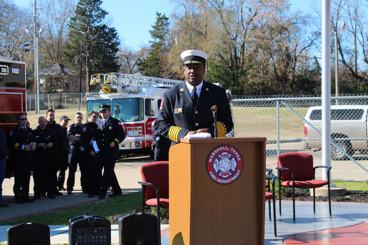 142-year-old historic bell unveiled at Marshall Fire Department