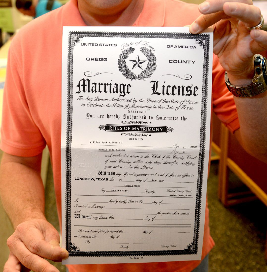marriage license in lubbock texas